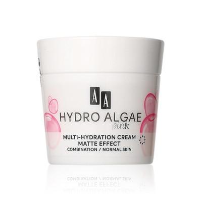 AA Hydro Algae Pink Moisturizing and Correcting Cream Improving Skin Tone Pore
