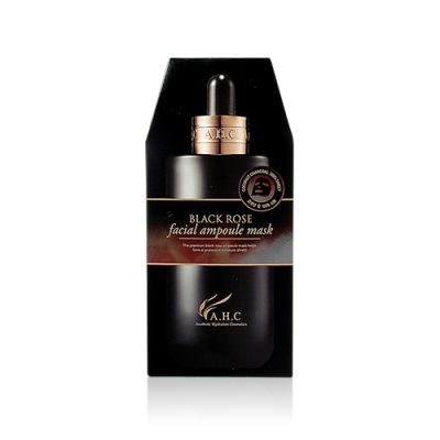 Black Rose Facial Ampoule Mask