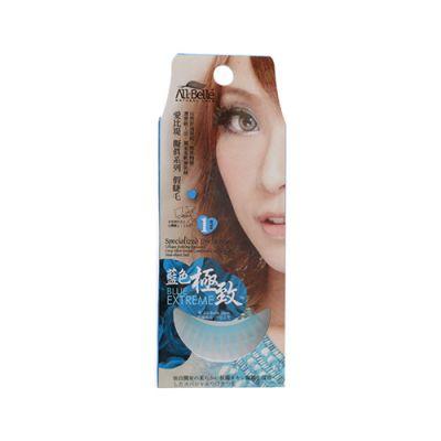 七彩霓虹UV電光睫毛 (藍色)