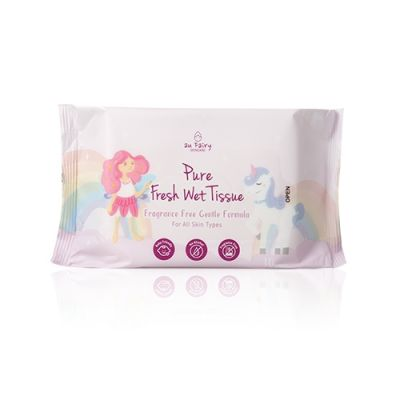 Pure Fresh Wet Tissue #Fragrance Free