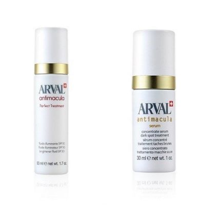 [Special Offer] Arval Antimacula Perfect Treatment brightener fluid SPF30 50ml + Antimacula Concentrate serum dark spot treatment 30ml