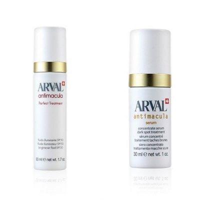 [套裝優惠] Arval 亮白修護日用乳液 SPF30 50ml+亮白修護淡斑精華 30ml