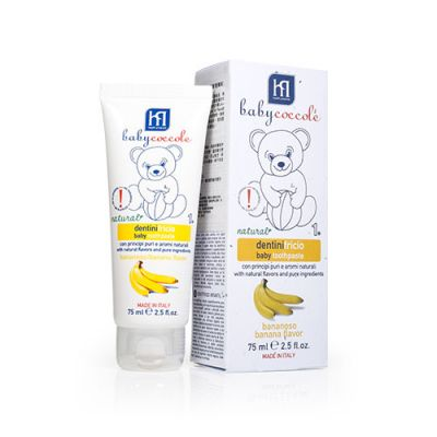 [2pcs - Special Price] Baby Toothpaste (Banana Flavour)