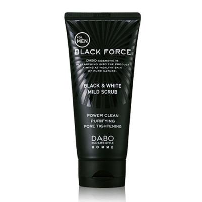Homme Black Force Foam Cleanser