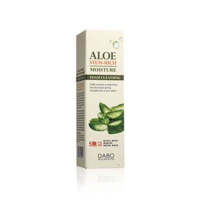 Aloe Stem-Rich Foam Cleansing
