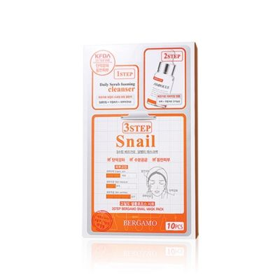 3 Step Snail Mask Pack