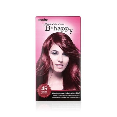 B-Happy [2pcs - Special Price] Color Cream - (4R) Cherry Wine