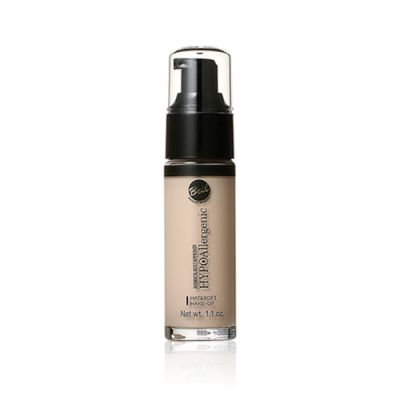 Hypo Allergenic Mat&Soft Make-up Foundation #01 Light Beige