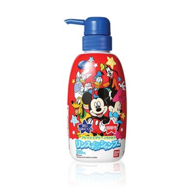 Bandai Mickey Mouse 2 In 1 Shampoo