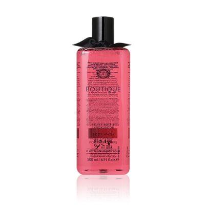 丝绒玫瑰与檀香香氛沐浴露 + 身体润肤乳液