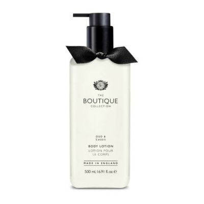 THE BOUTIQUE COLLECTION Oud & Cassis Body Lotion