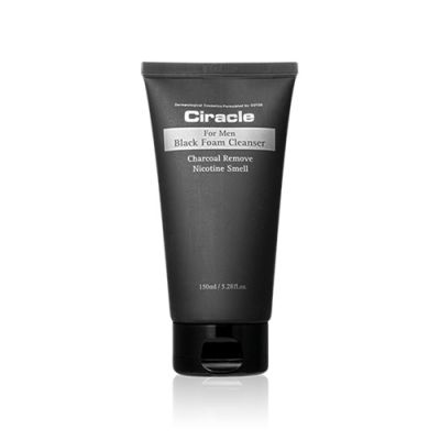 For Men Black Foam Cleanser