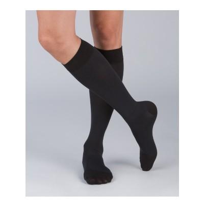 [2件裝] 醫療漸進式壓力襪 #200 黑色 (有咀襪 ) S 碼