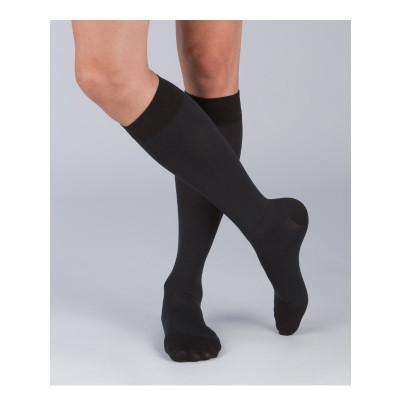 [2件裝] 醫療漸進式壓力襪 #200 黑色 (有咀襪 ) M 碼