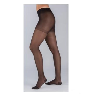 [2pcs] Celeste #15 Medical Graduated Compression Pantyhose  Black  L