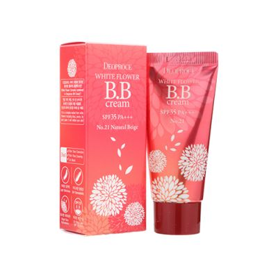 [2pcs - Special Price] White Flower BB Cream SPF35 PA+++ #21 Natural Beige