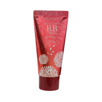 White Flower BB Cream SPF35 PA+++ #21 Natural Beige