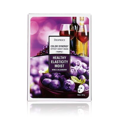 [Buy 2 get 1 free] Color Synergy Effect Sheet Mask – Purple