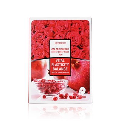 Color Synergy Effect Sheet Mask – Red
