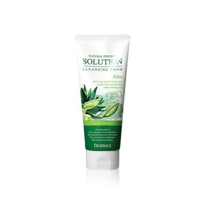 [Buy 1 get 1 free] Natural Perfect Solution Cleansing Foam Aloe