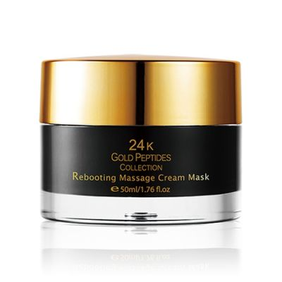 24K Gold Peptides Collection Rebooting Massage Facial Cream Mask