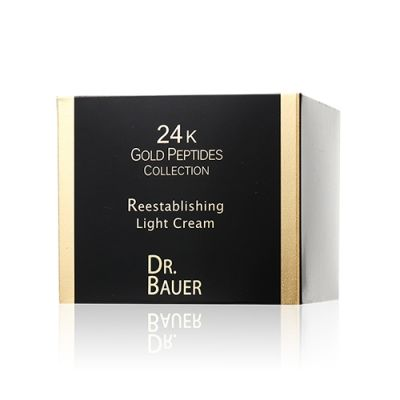 24K Gold Peptides Collection Reestabliishing Light Cream