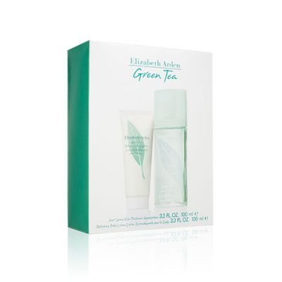 Green Tea Fragrance Gift Set(Scent Spray+Body Lotion)