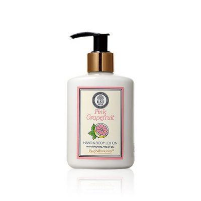 Hand & Body Lotion With Organic Argan Oil #Pink Grapefruit