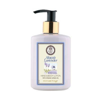 Hand & Body Lotion With Organic Argan Oil #Alacati Lavender