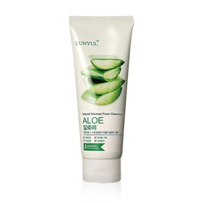 Aloe Natural Moisture Foam Cleansing