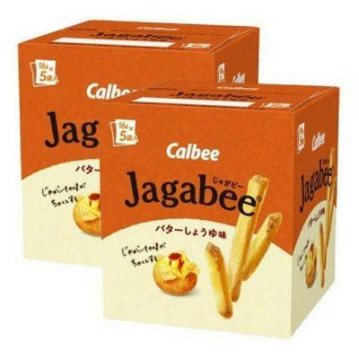 [2件裝] Calbee Jagabee 醬油牛油味薯條