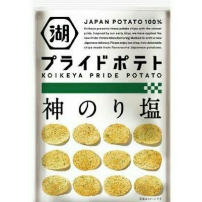 [2件裝] 湖池屋 神戶之海苔鹽薯片