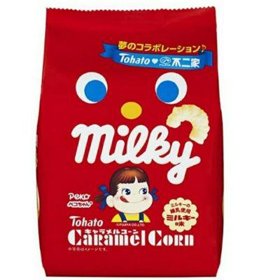 [2件裝] Tohato 牛奶妹牛奶糖味粟米條
