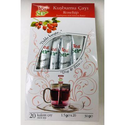 TEA STIR - 土耳其袋棒茶玫瑰果味