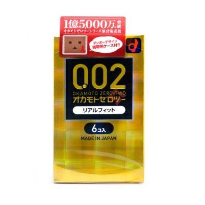 0.02mm 黃金版貼合緊型避孕套/安全套-M SIZE