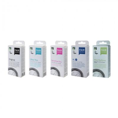 公平貿易 防敏感安全套 Sensitive Dry