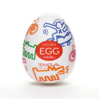 TENGA × Keith Haring: 聯乘EGG STREET 一次性飛機蛋