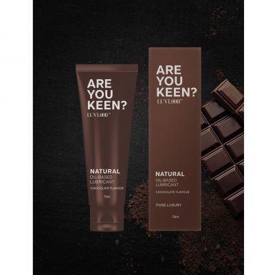 天然防敏油性潤滑液 (巧克力味)