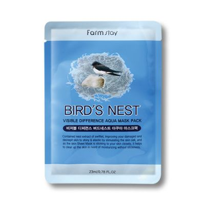 Bird's Nest Visible Difference Aqua Mask Pack (10pcs)