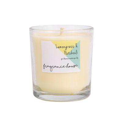香薰蠟燭 - 檸檬草與廣藿香