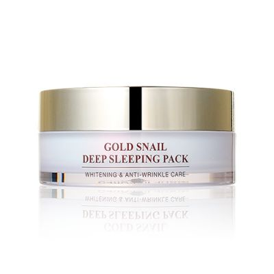 24K Gold Snail Deep Sleeping Pack