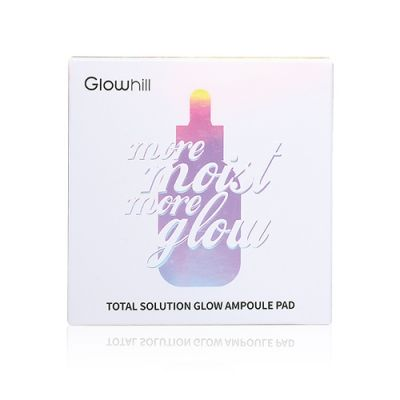 Total solution glow ampoule pad