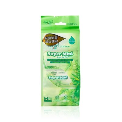 Super Mini Green Tea Wet Wipes