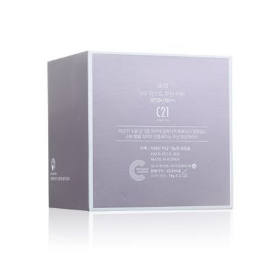 UV Mist Cushion Cover SPF50+/PA+++ (15g+Refill #C21)