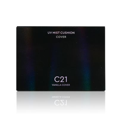 [黑珍珠氣墊 自然通透香草色] 遮瑕防曬氣墊粉 SPF50+ PA+++ #C21 Vanilla Cover
