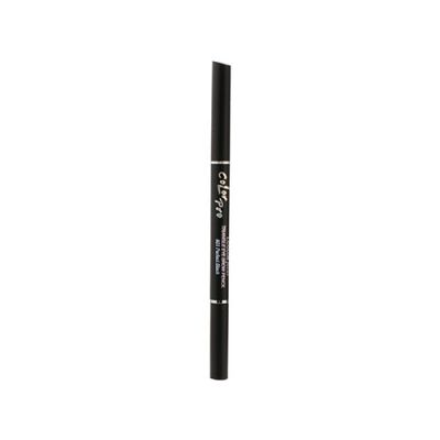 Focus-Color Pro Triangle Eye Brow Pencil #01 Perfect Black