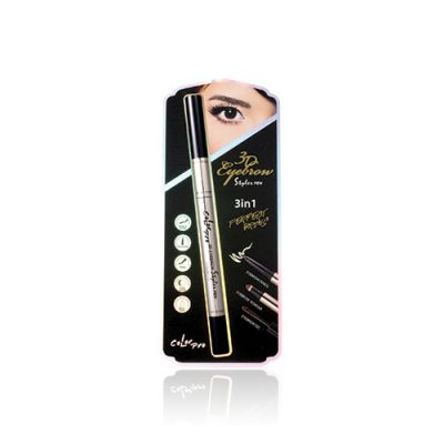 3D Eyebrow Styler Pen #02 Dark Brown