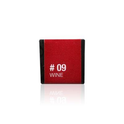 慕絲漾彩唇膏 #09 Wine