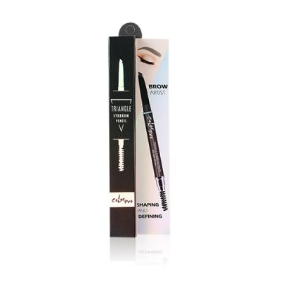 Triangle Eye Brow Pencil #02 Dark Brown