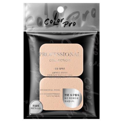 Color Pro 韓國方形膚色粉撲
